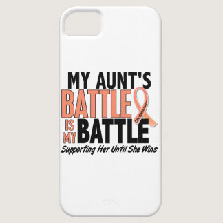 My Battle Too Aunt Uterine Cancer iPhone SE/5/5s Case