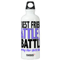 My Battle Too Best Friend (Female) Esophageal Canc Water Bottle