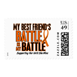 My Battle Too Best Friend Leukemia Postage