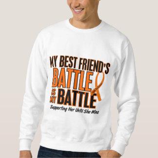 My Battle Too Best Friend Leukemia Sweatshirt