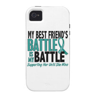 My Battle Too Best Friend Ovarian Cancer iPhone 4/4S Covers