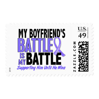 My Battle Too Boyfriend Esophageal Cancer Postage Stamps