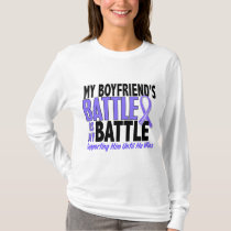 My Battle Too Boyfriend Esophageal Cancer T-Shirt
