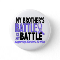 My Battle Too Brother Esophageal Cancer Button