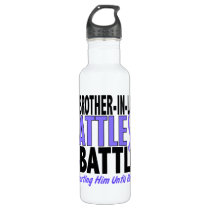 My Battle Too Brother-In-Law Esophageal Cancer Stainless Steel Water Bottle
