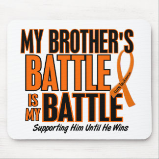 My Battle Too Brother Leukemia Mouse Pad