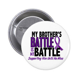 My Battle Too Brother Pancreatic Cancer Pin