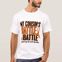 My Battle Too Cousin Leukemia T-Shirt