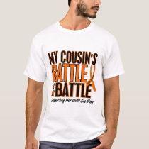 My Battle Too Cousin Leukemia T-Shirt