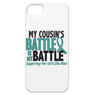 My Battle Too Cousin Ovarian Cancer iPhone SE/5/5s Case