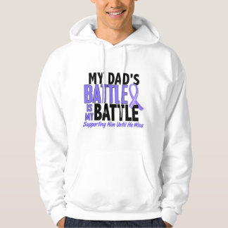 My Battle Too Dad Esophageal Cancer Hoodie
