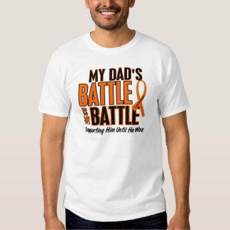 My Battle Too Dad Leukemia T-shirt
