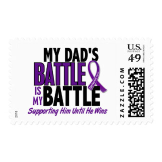 My Battle Too Dad Pancreatic Cancer Stamp