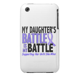 My Battle Too Daughter Esophageal Cancer Case-Mate iPhone 3 Case