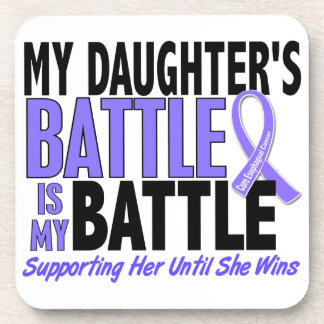 My Battle Too Daughter Esophageal Cancer Coaster