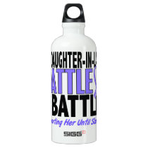 My Battle Too Daughter-In-Law Esophageal Cancer Aluminum Water Bottle