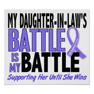 My Battle Too Daughter-In-Law Esophageal Cancer Print