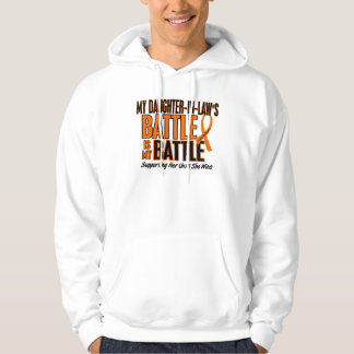 My Battle Too Daughter-In-Law Leukemia Hoodie
