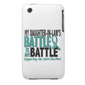 My Battle Too Daughter-In-Law Ovarian Cancer iPhone 3 Case