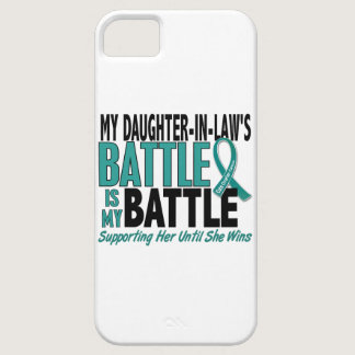 My Battle Too Daughter-In-Law Ovarian Cancer iPhone SE/5/5s Case