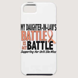 My Battle Too Daughter-In-Law Uterine Cancer iPhone SE/5/5s Case