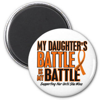 My Battle Too Daughter Leukemia Magnet