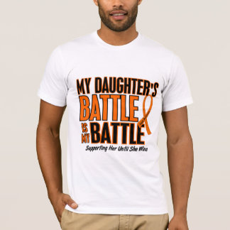 My Battle Too Daughter Leukemia T-Shirt