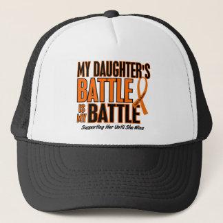 My Battle Too Daughter Leukemia Trucker Hat
