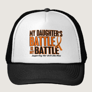 My Battle Too Daughter Leukemia Trucker Hat