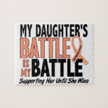 My Battle Too Daughter Uterine Cancer Puzzles