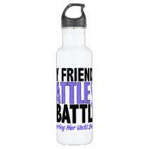 My Battle Too Friend (Female) Esophageal Cancer Water Bottle