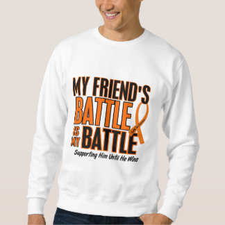 My Battle Too Friend Leukemia Sweatshirt