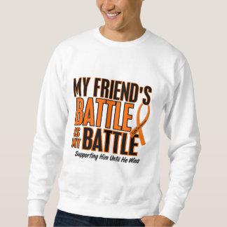 My Battle Too Friend Leukemia Sweatshirt