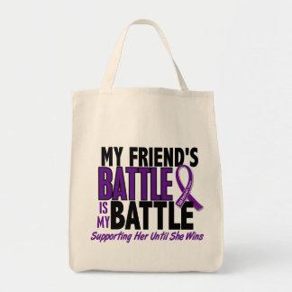 My Battle Too Friend Pancreatic Cancer Tote Bag