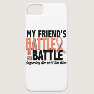 My Battle Too Friend Uterine Cancer iPhone SE/5/5s Case