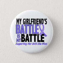 My Battle Too Girlfriend Esophageal Cancer Button