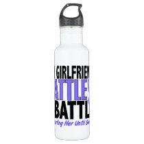 My Battle Too Girlfriend Esophageal Cancer Water Bottle