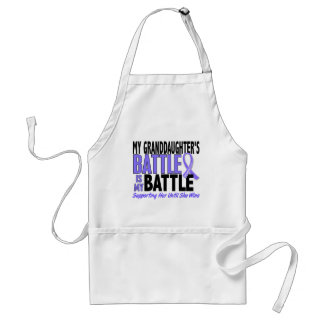 My Battle Too Granddaughter Esophageal Cancer Adult Apron