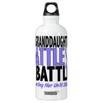 My Battle Too Granddaughter Esophageal Cancer Water Bottle