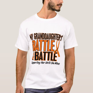 My Battle Too Granddaughter Leukemia T-Shirt