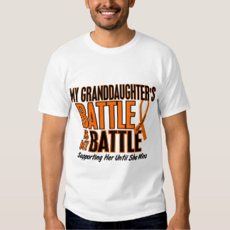 My Battle Too Granddaughter Leukemia T-shirts