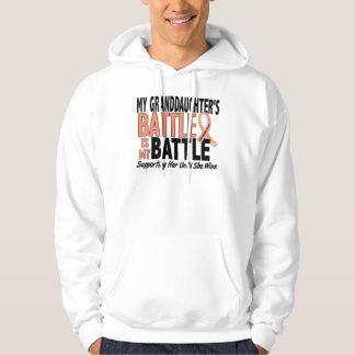My Battle Too Granddaughter Uterine Cancer Hoodie