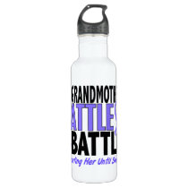 My Battle Too Grandmother Esophageal Cancer Stainless Steel Water Bottle