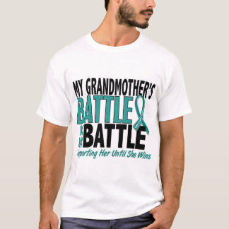 My Battle Too Grandmother Ovarian Cancer T-Shirt