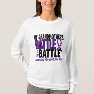 My Battle Too Grandmother Pancreatic Cancer T-Shirt