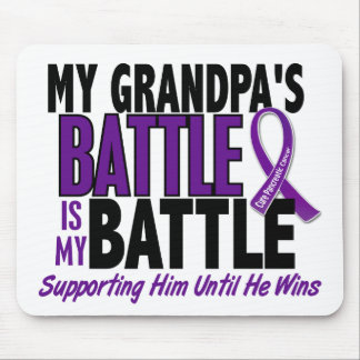 My Battle Too Grandpa Pancreatic Cancer Mouse Pad