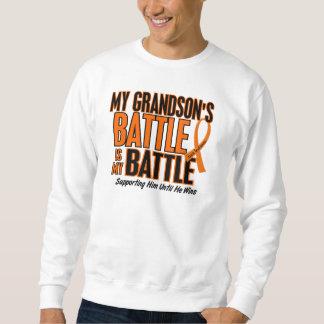 My Battle Too Grandson Leukemia Sweatshirt