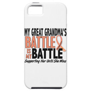 My Battle Too Great Grandma Uterine Cancer iPhone SE/5/5s Case