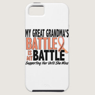 My Battle Too Great Grandma Uterine Cancer iPhone SE/5/5s Case