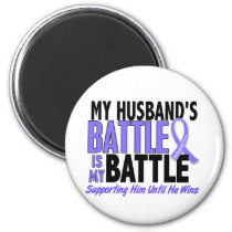 My Battle Too Husband Esophageal Cancer Magnet